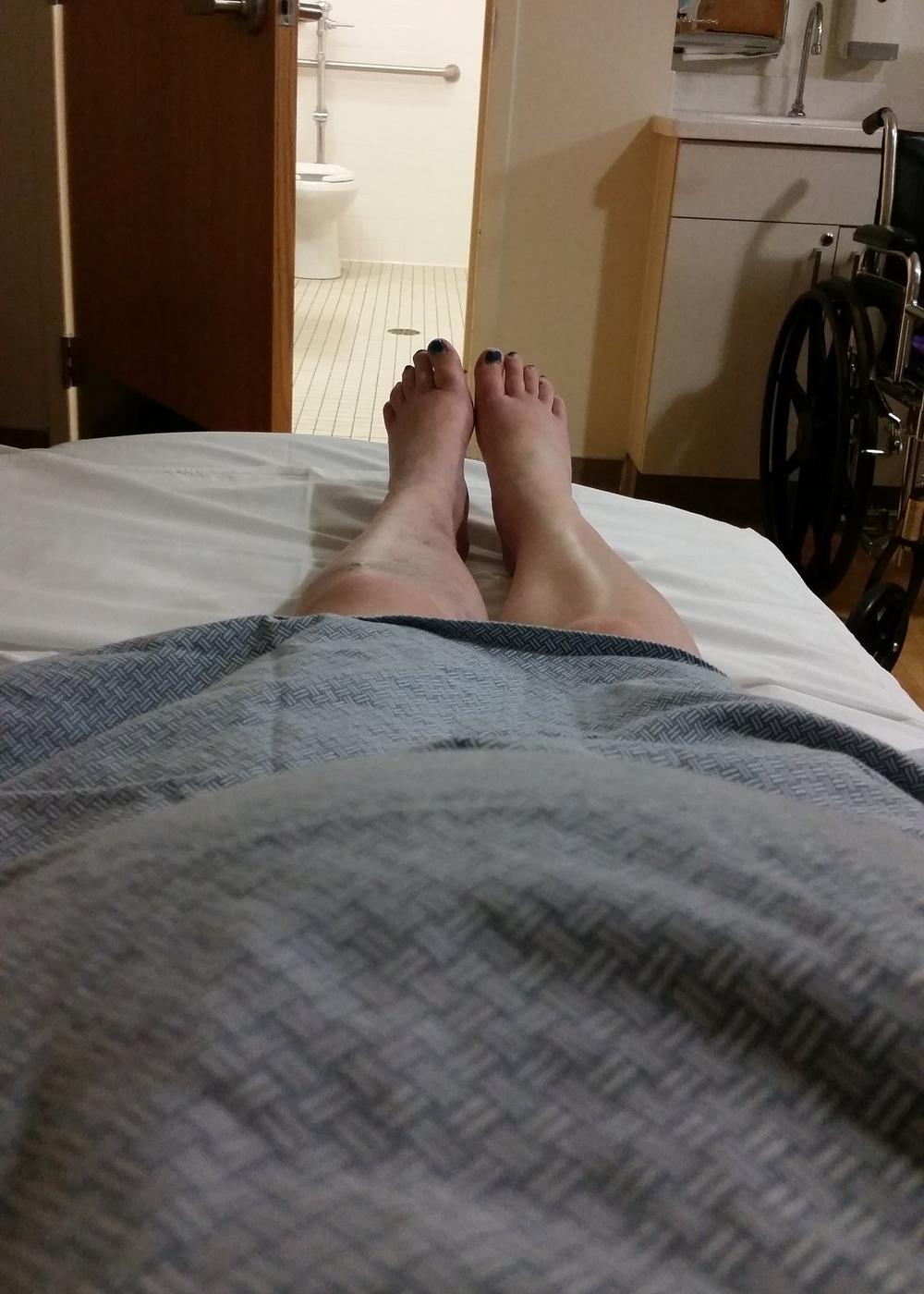 hospital bed rest