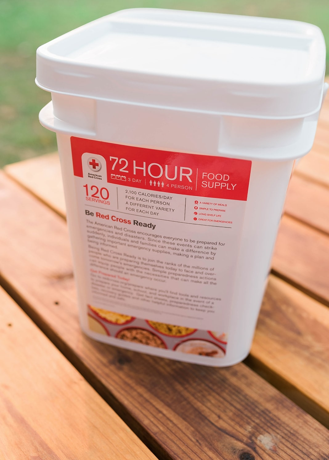 emergency food supply that you'll actually eat