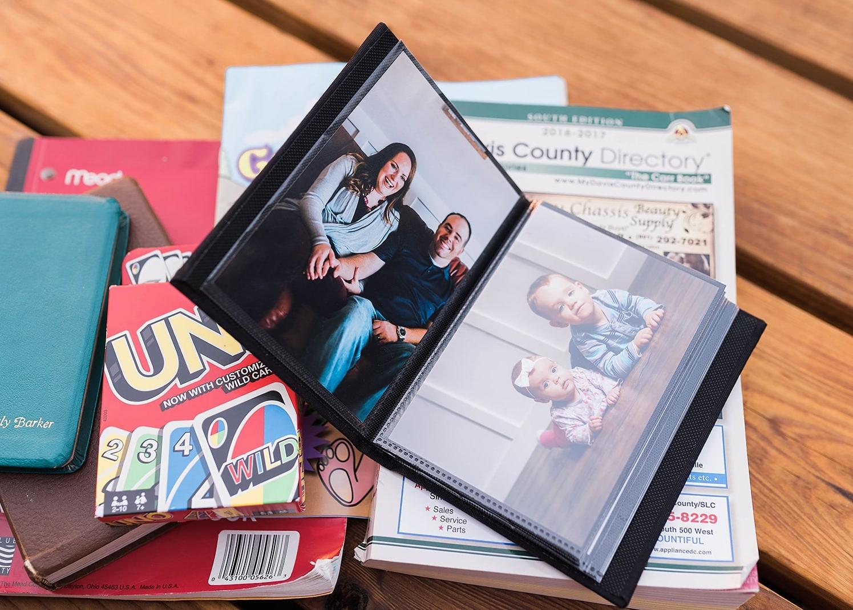 family photo album 72 hour kit
