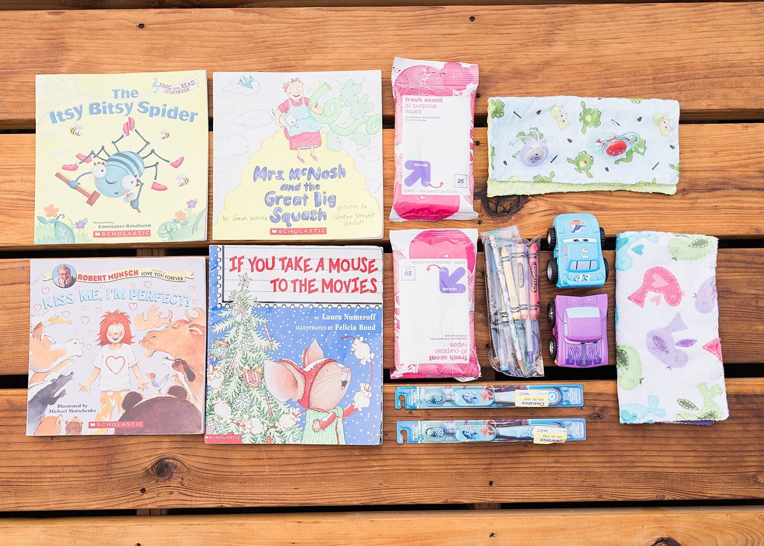 72 hour kit for kids and babies