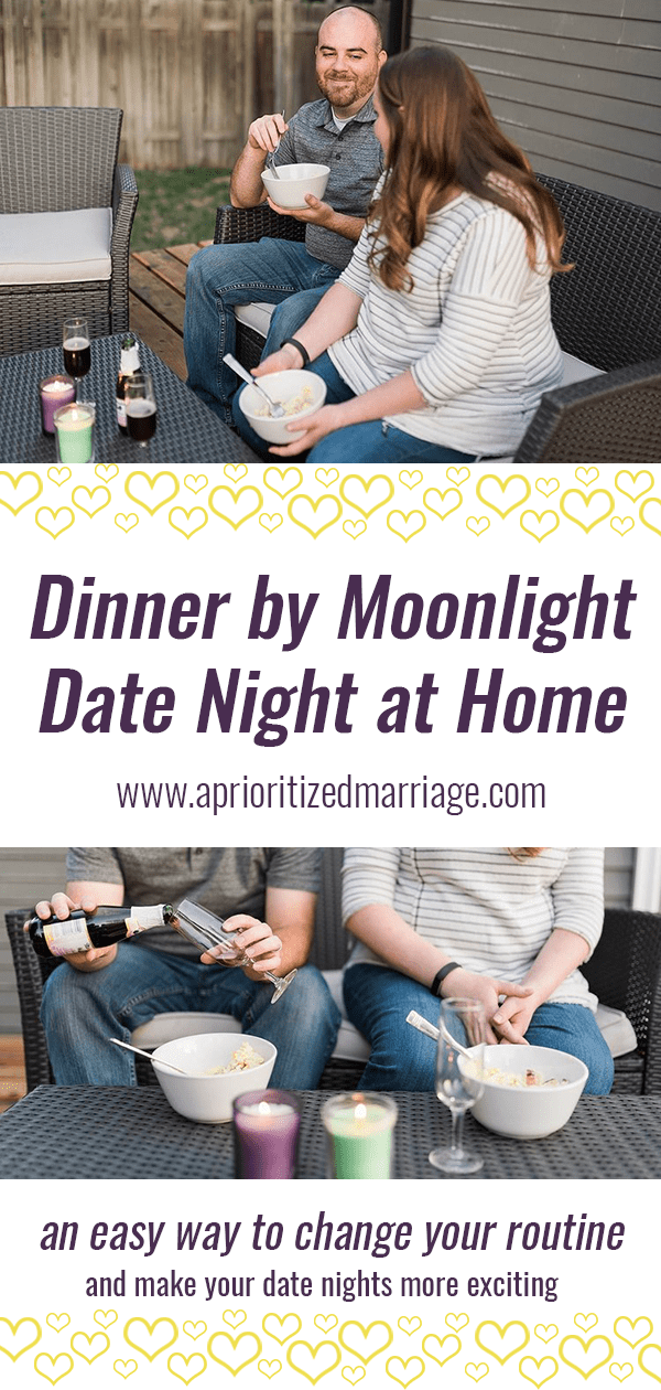fun at home date idea. spice up your date night routine with one simple change.