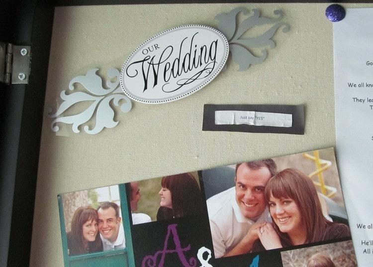 wedding memory keeping