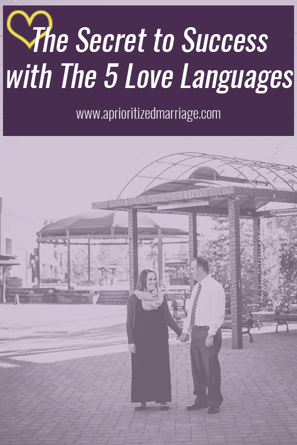 One thing every person needs to remember when it comes to the five love languages. You can't succeed without this.