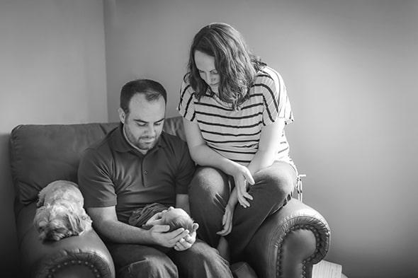 adjusting as new parents