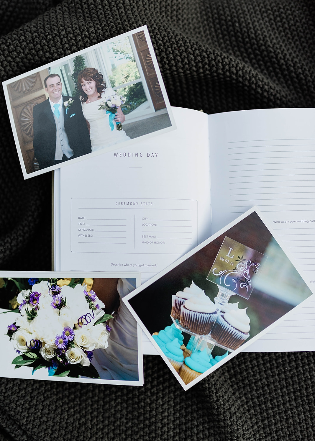journal your wedding day