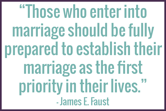 prioritize your marriage quote