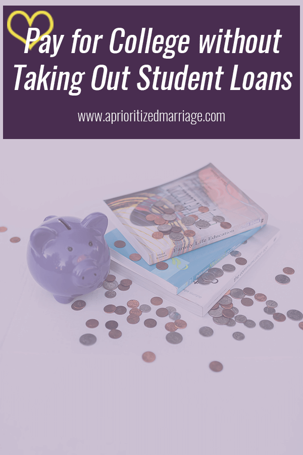 How we paid for my four year degree without taking out any student loans