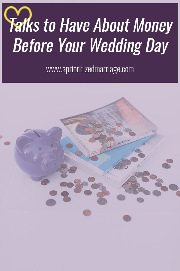 Money causes a lot of contention in marriage. Start off on the right foot with these discussions.
