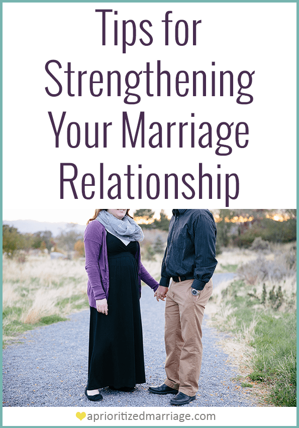 Tips for strengthening the relationship that you have with your spouse.
