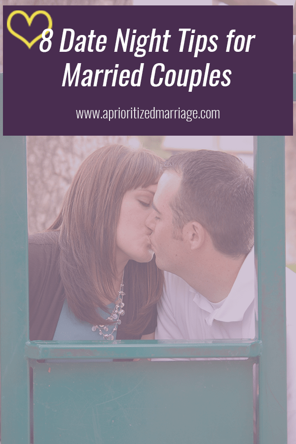 The best date night tips for married couples. Make date night happen, no matter what comes your way!