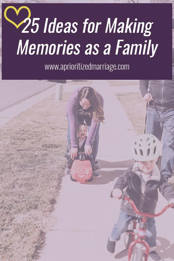 25 Ideas for Simple Family Fun