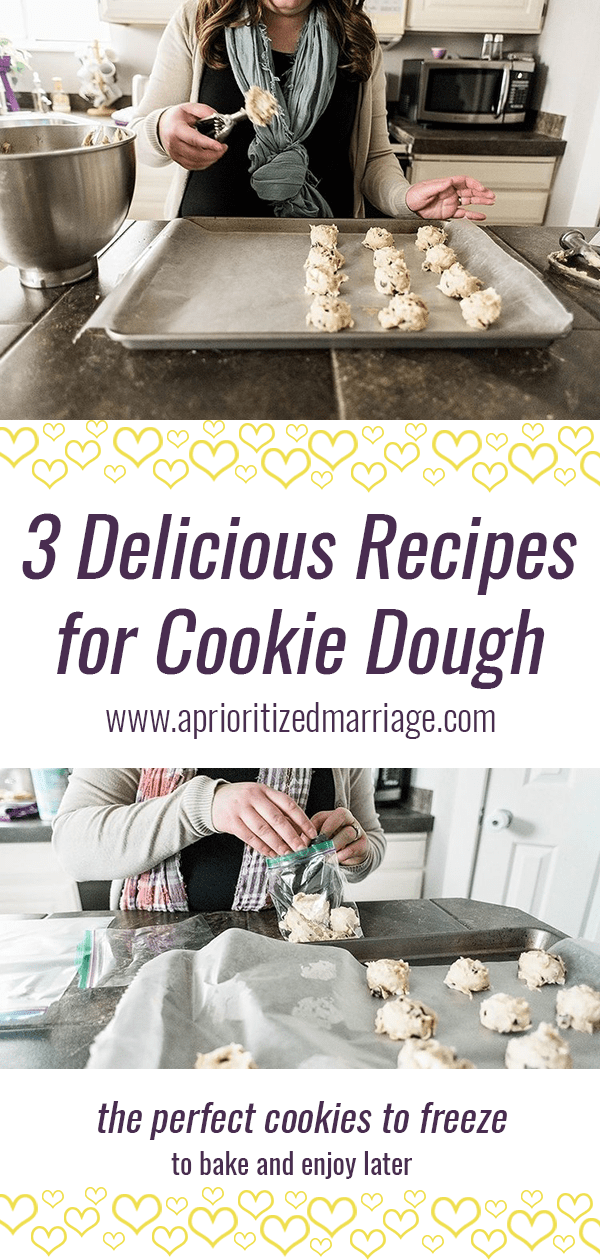 Our three favorite tried and true cookie recipes