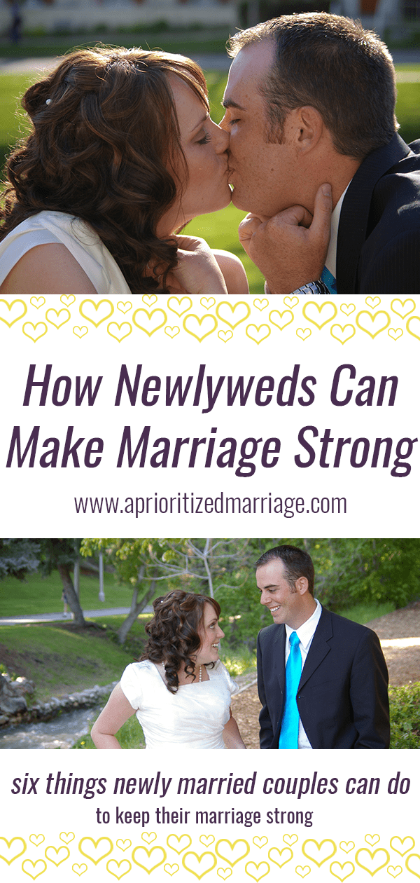 6 tips to help newlyweds keep their marriage strong.