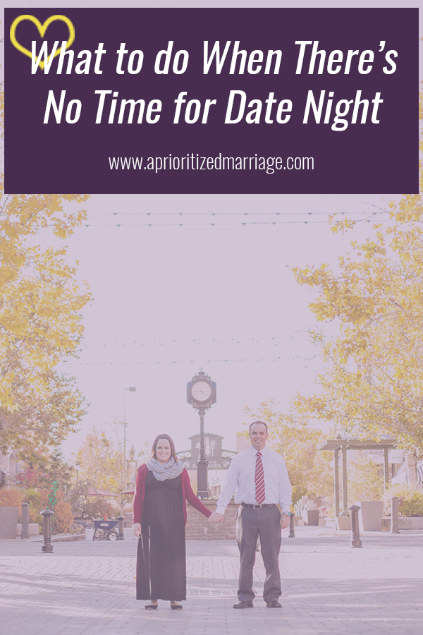 Don't have time for date night? Try these two things instead!
