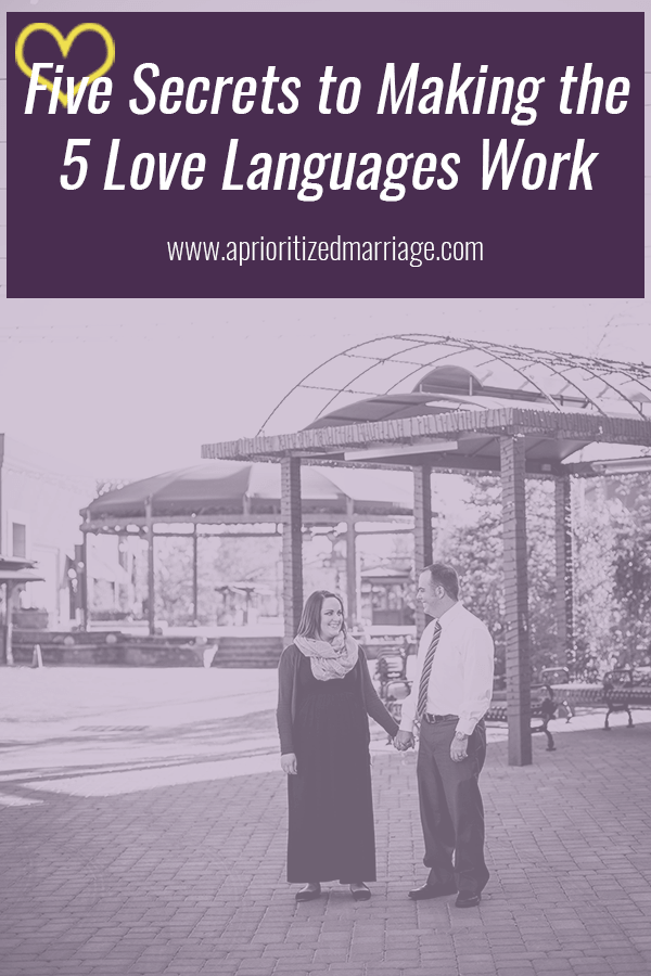 The 5 Love Languages will be most effective if you remember these five things.