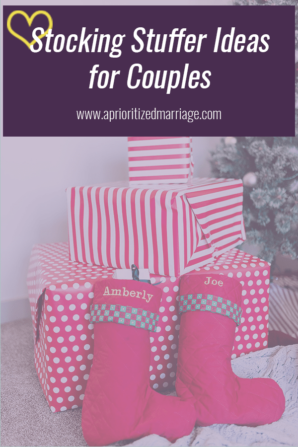 Fun and useful stocking stuffer ideas for couples