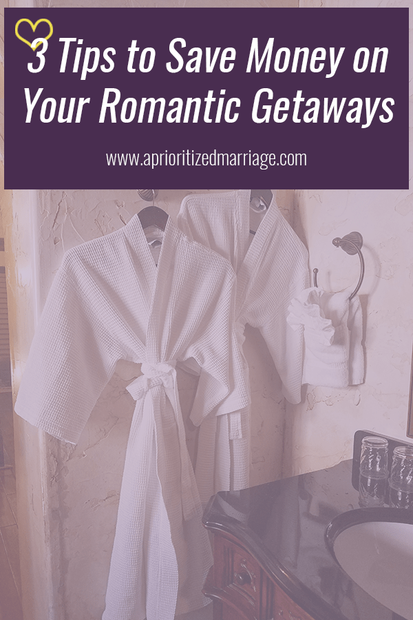 3 easy ways to save money on your next overnight romantic getaway.