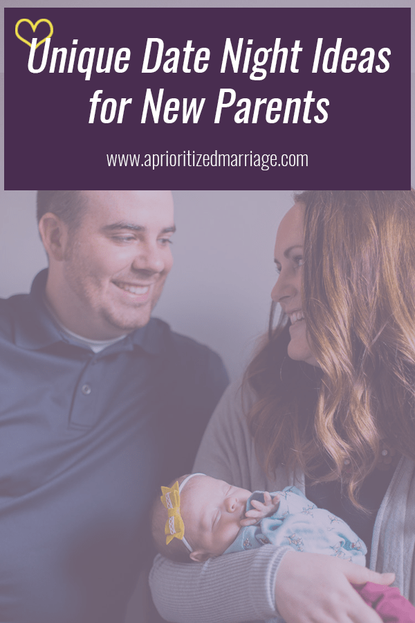 Parents with a brand new baby might find it difficult to find time for date night. This post shares seven different ideas that are fun and very doable so you can make date night happen even when you're fresh, new parents!