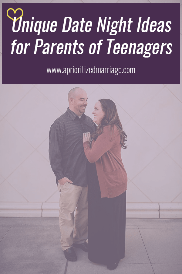 Teenagers keep life busy, but you can still make time for date night and have fun with it too! This post shares ideas that you can include in your date night rotation that other stages of life might not have made possible.