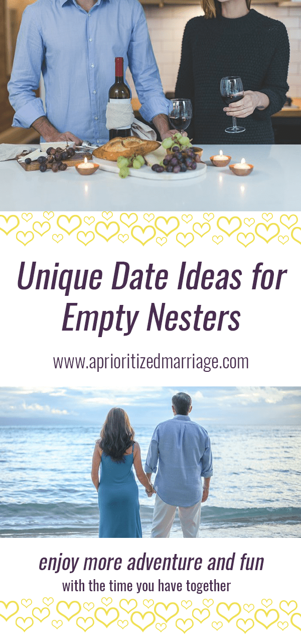 After your kids leave home, you have a unique opportunity to date and get to know each other in a new, slower stage of life. This post includes six date night ideas for mixing things up and having fun as a couple in the later years of your life.