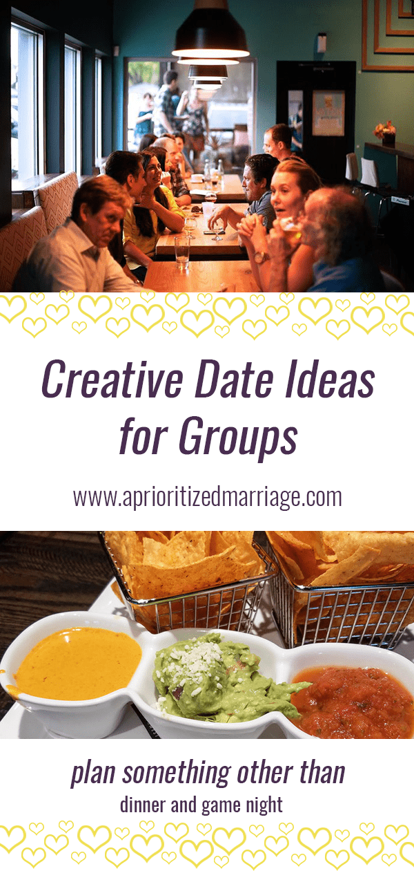 Group date night ideas that are fun and creative!