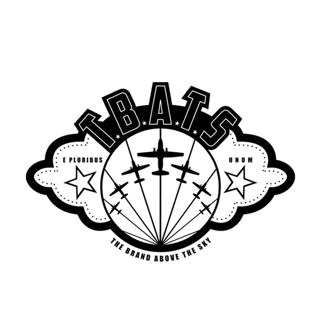 """TBATS: acronym for """"The Brand Above the Sky"""" final logo direction"""