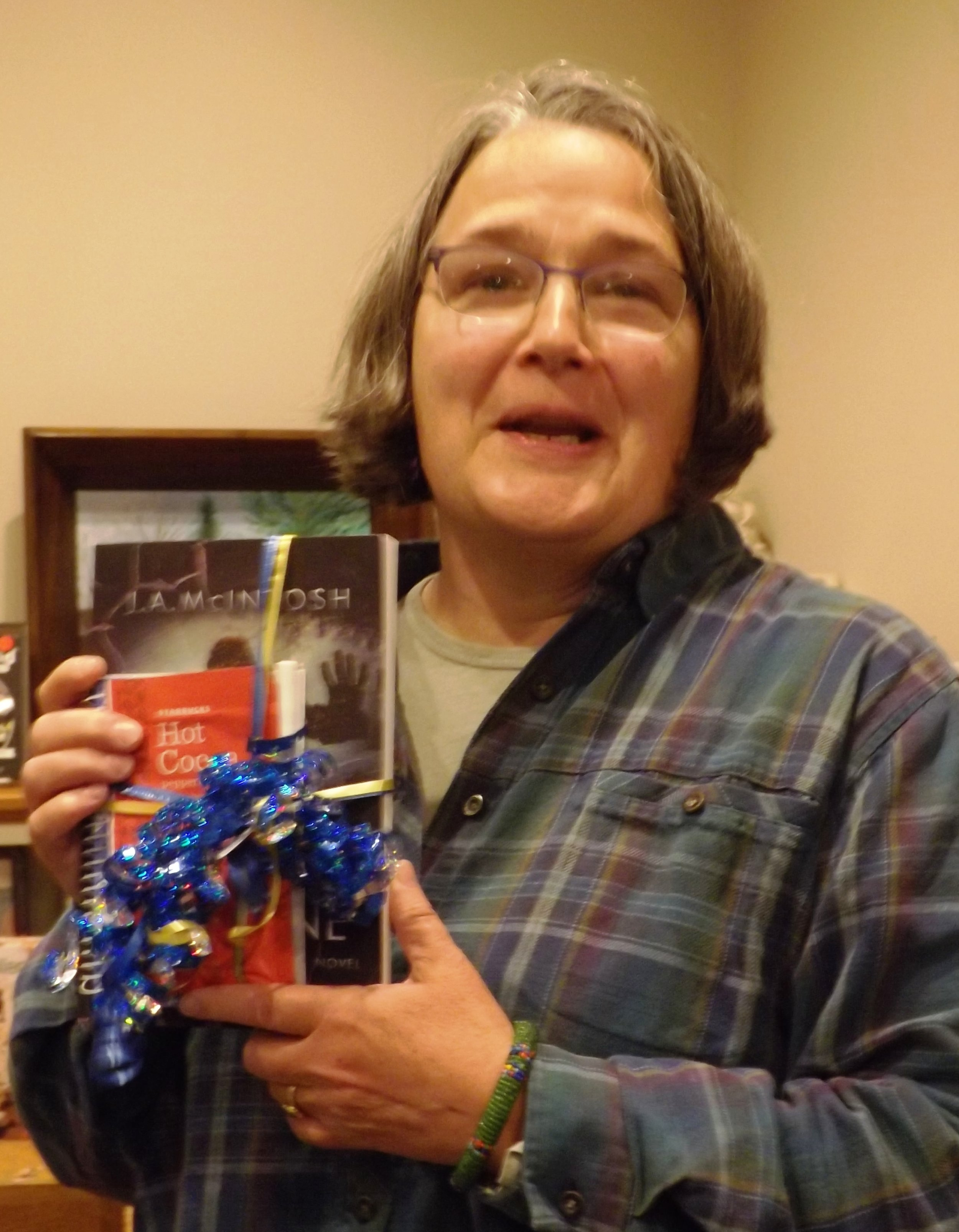 Raffle winner at warwick Library.jpg