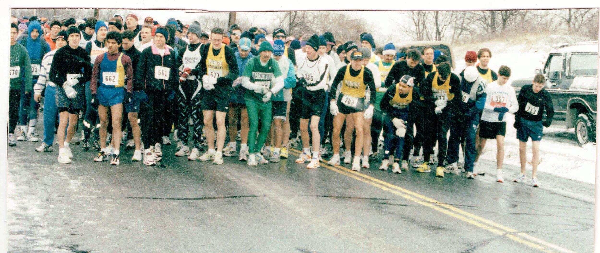 Start of the 1998 Kings Park 15K.