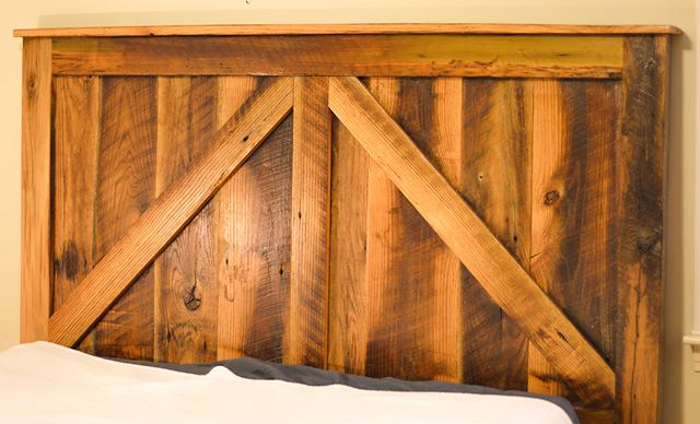 The last few days in Kentucky have been absolutely frigid. Cold weather seems to make it difficult to get out of bed in the morning, especially when you take time staring at your new barn door headboard.