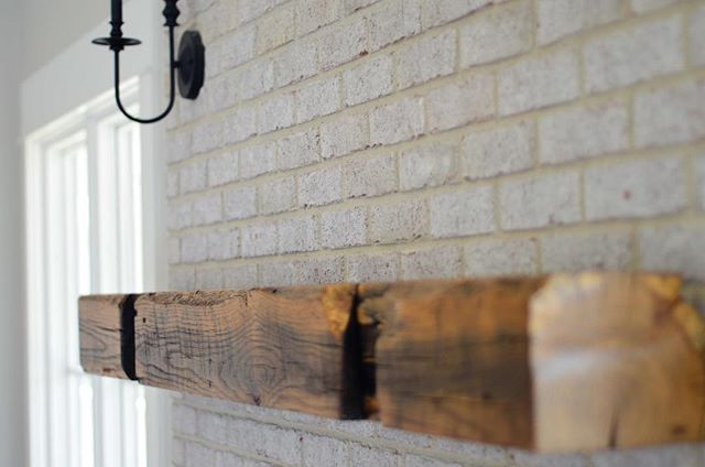 Having a conversation piece in your house around the holidays can be a lot of fun. Telling friends and family members about the old barn beam that's been on your family's farm for decades, and now serves as your living room mantel is a great way to break that awkward silence with your weird uncle and crazy aunt.