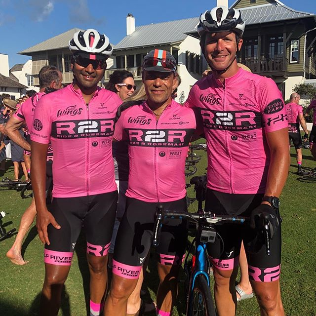 They made it! 520+ miles over 5 days for the @r2rosemary #cancersucks #ninetywestracing #cycling #bikes #ride901 #keeppunchin #cyclingphotos #cyclinglife #outworkyesterday #choose901 #trainerroad #orionfcu #oriongivesback #cbre #bmhcc