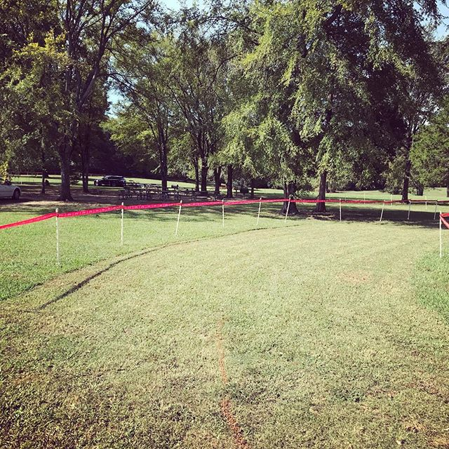 Perfect CX weather! The course is being taped and we will be ready to roll bright and early Tomorrow morning! #tristarcx #ninetywestracing #crossisboss