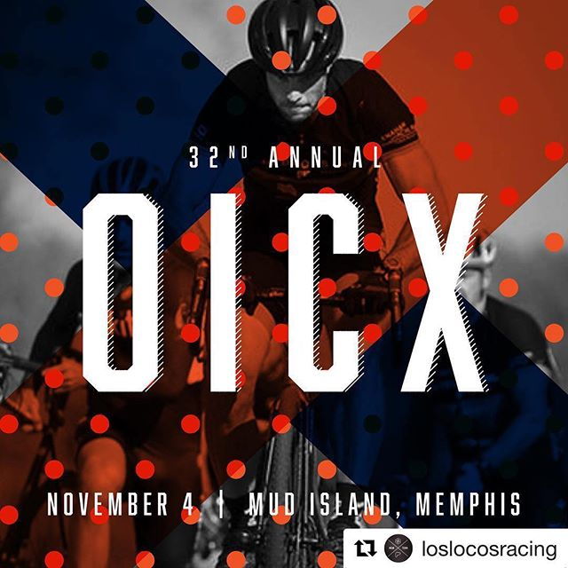 This Sunday, Nov 4th, OICX at Mud Island... Let's do this Memphis! #oicx #crossisboss #supportlocalracing