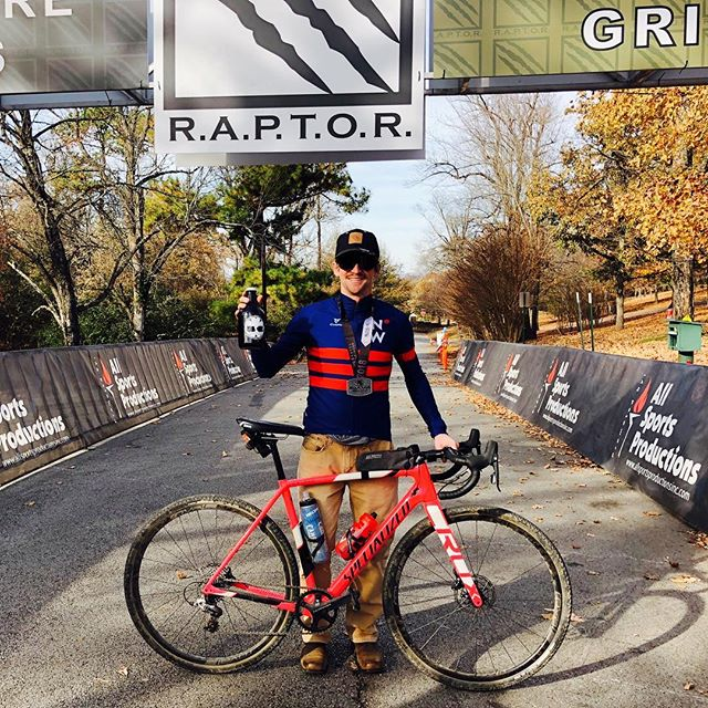 @aero_flamingo takes the overall win at the Raptor Gravel Grinder. #ninetywestracing #cycling #bikes #ride901 #keeppunchin #cyclingphotos #cyclinglife #outworkyesterday #choose901 #trainerroad #orionfcu #oriongivesback #cbre #bmhcc