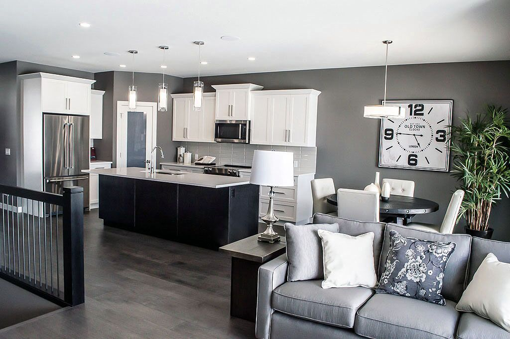 Interior of a show home at University Heights Kelowna