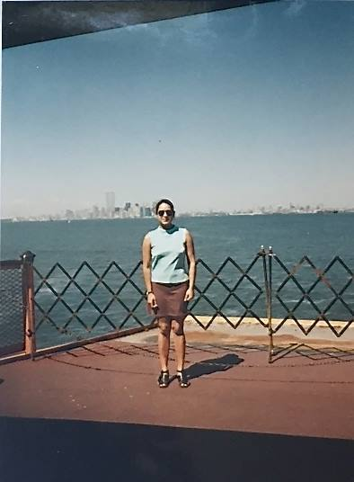 A 26 year old immigrant architect in New York (circa 1996). Photo by  Ritu Saheb, AIA