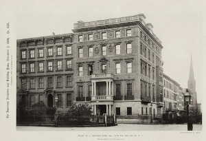 I renovated  a Ground Floor duplex apartment in this 120 year old land marked  Stanford White  building in Manhattan.