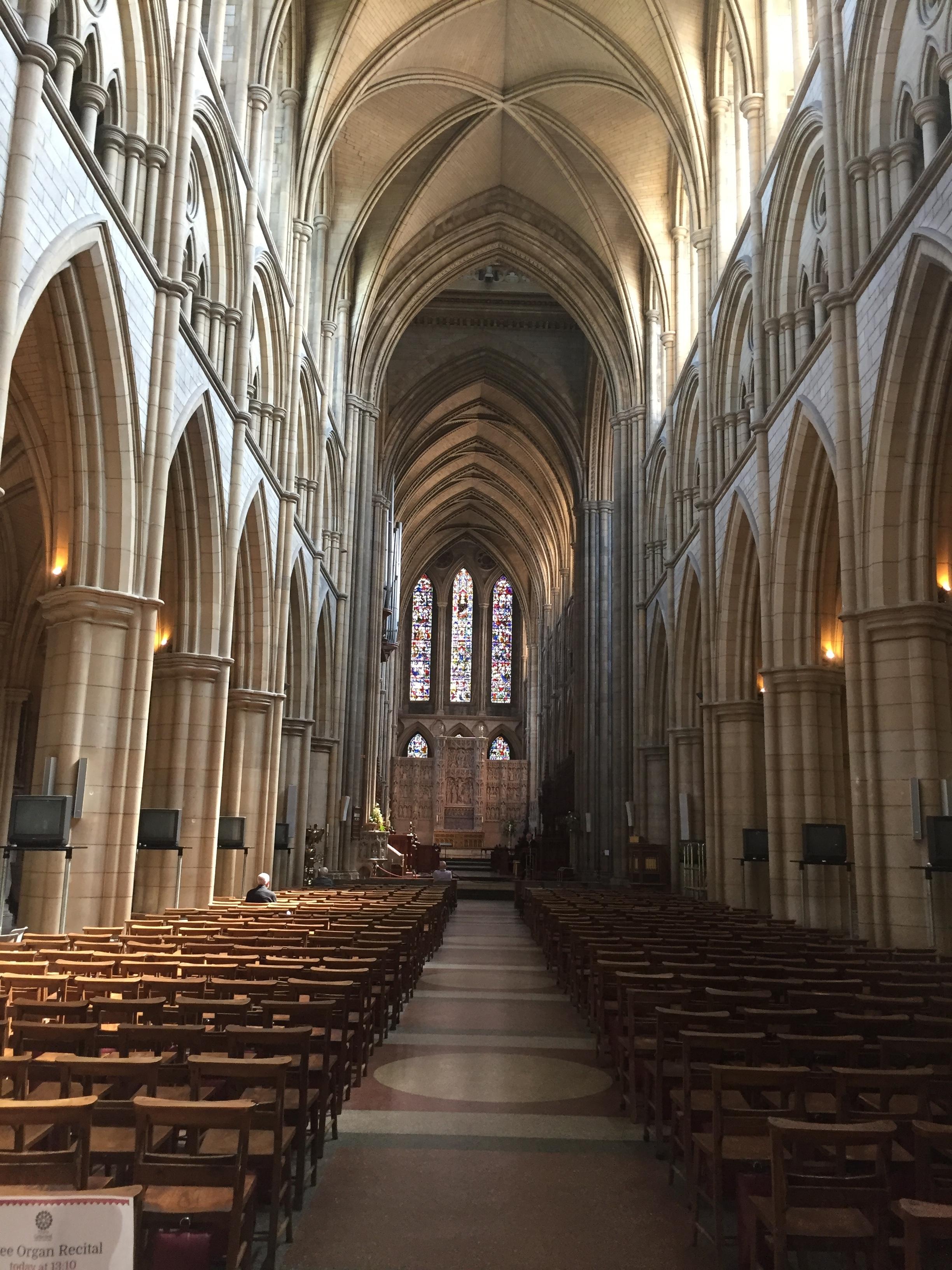 Truro Cathedral, a gothic wonder
