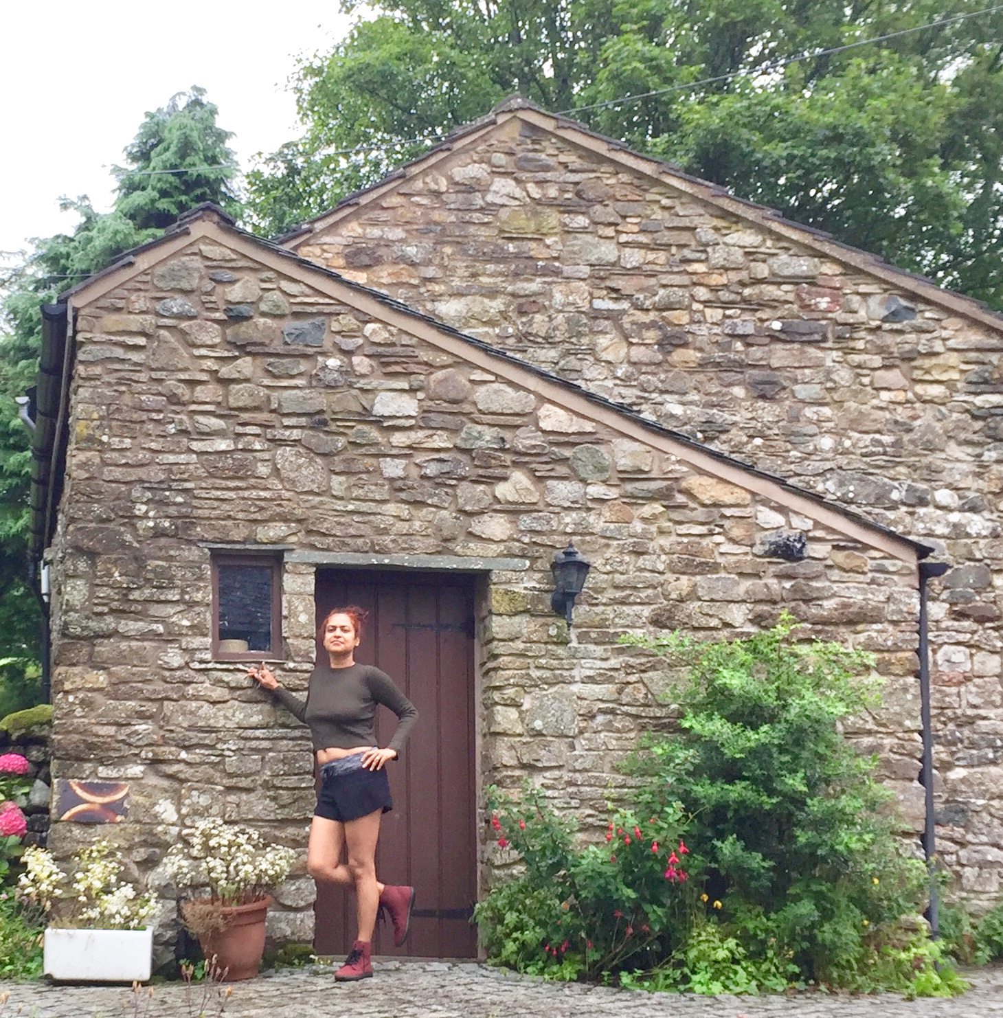 800 year old barn in the Lake District