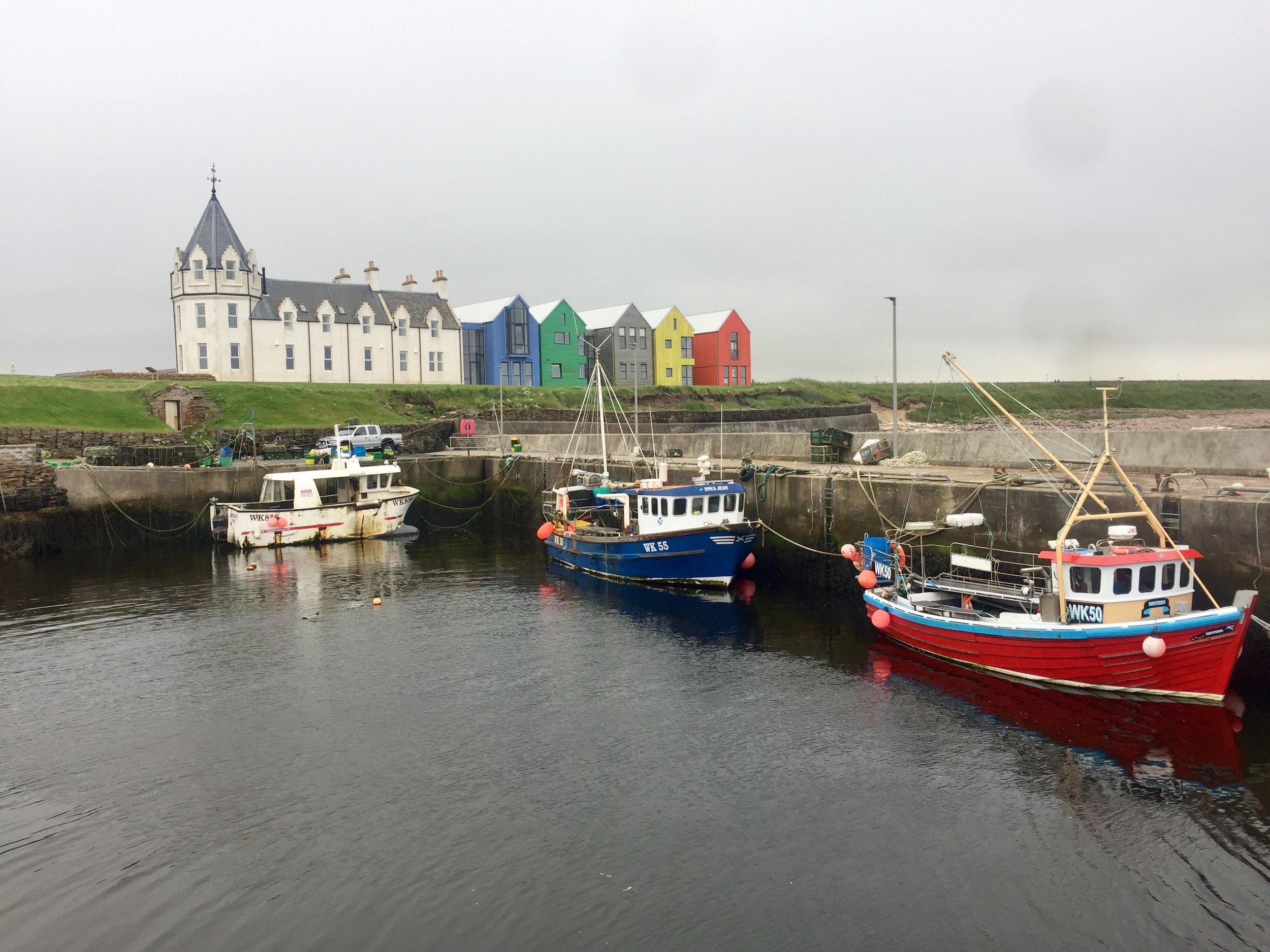 Scottish port