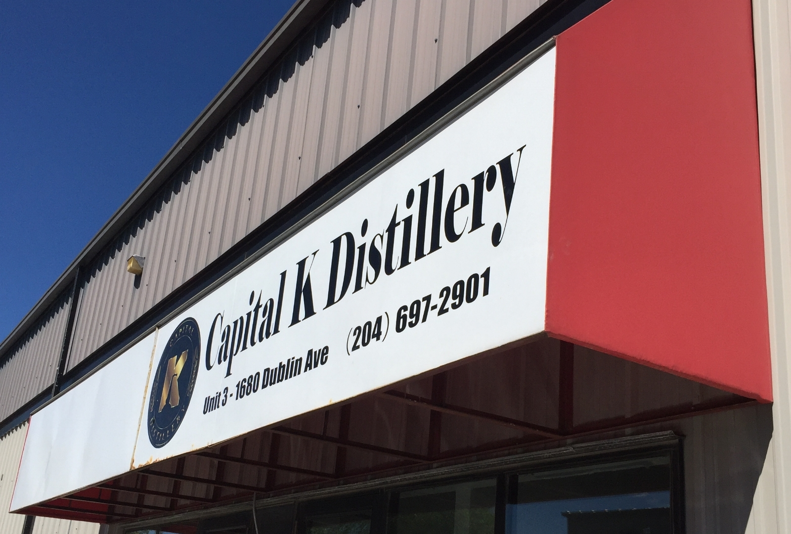 Capital K Micro Distillery - The first Micro Distillery in Manitoba…
