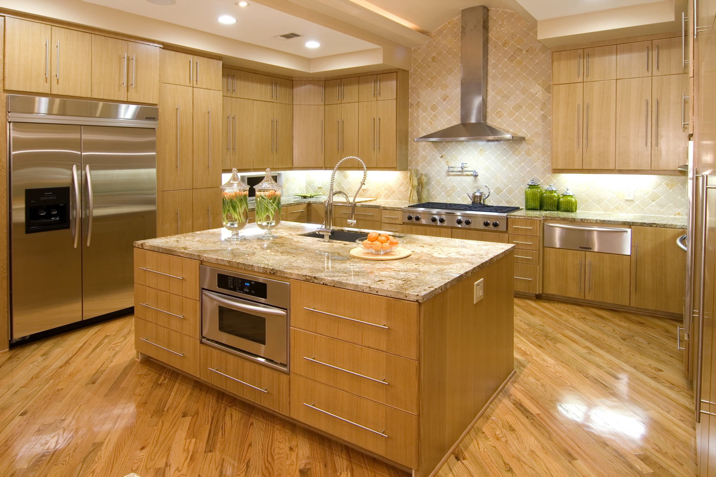 Meadow Lake Lane  - Kitchen w:Center Island -(2).jpg