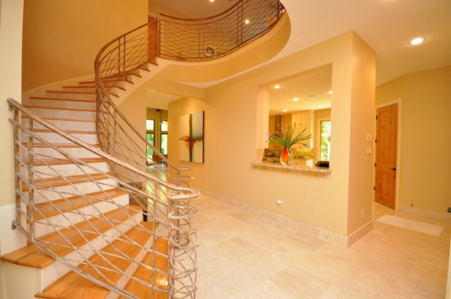 2309 Persa Street - Stairway and Gallery view to Kitchen - .JPG