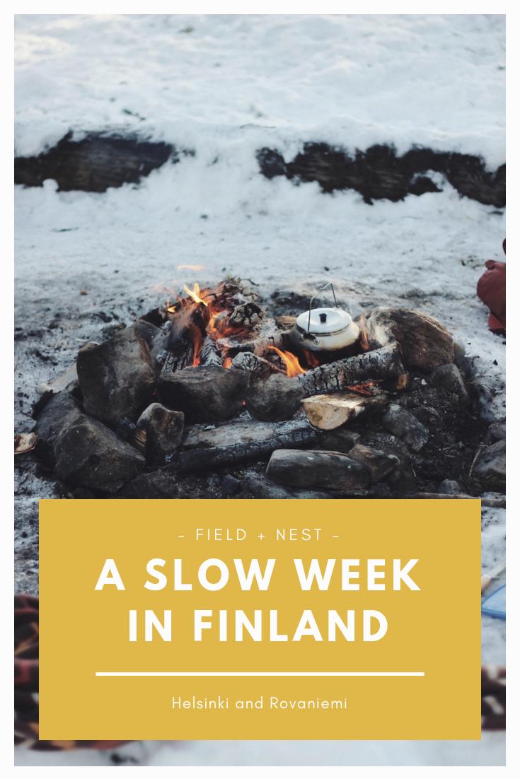 A Slow Week in Finland | Slow Travel