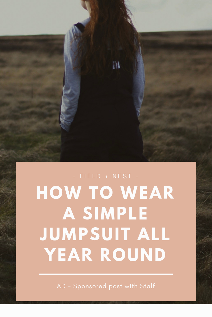 How to Wear a Simple Jumpsuit all Year Round.