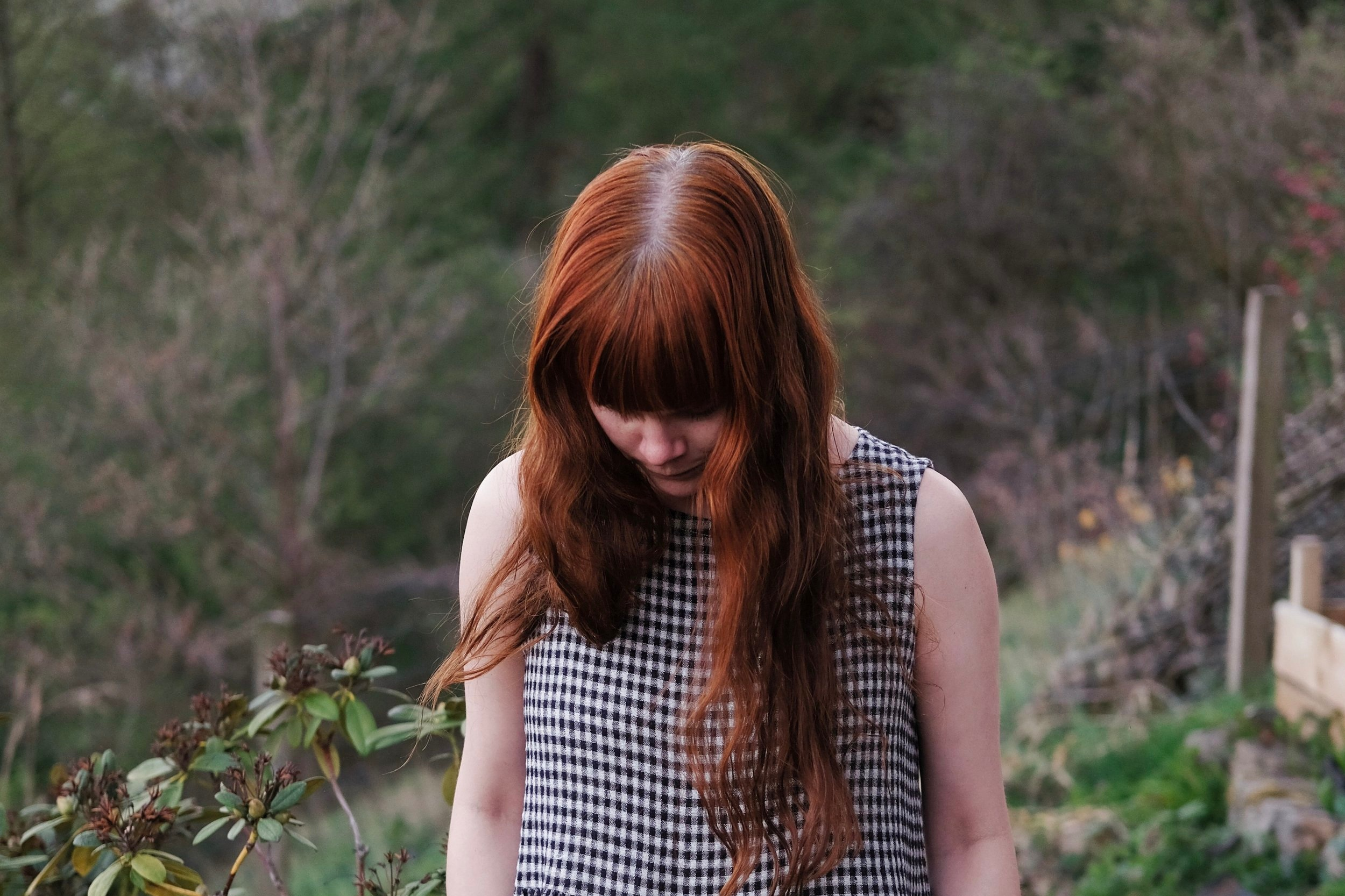 Gingham Nadinoo dress | Slow Style by Field + Nest
