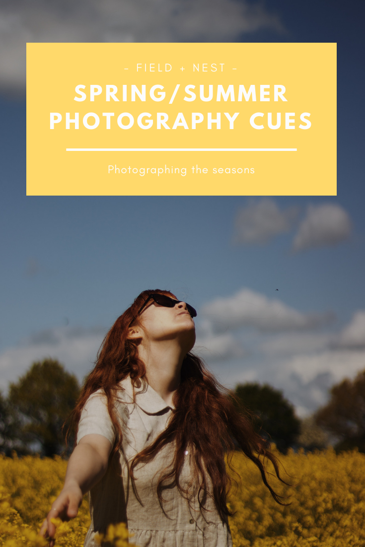 Spring Summer Photography Cues