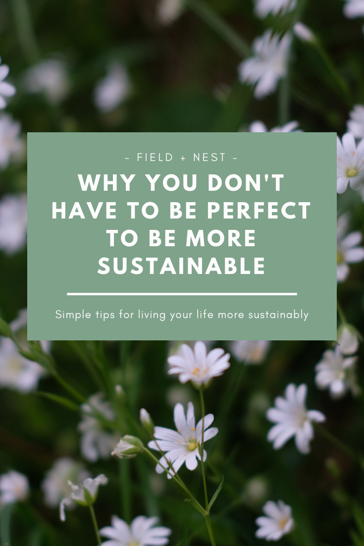 Why You Don't Have to be Perfect to be More Sustainable | Field + Nest