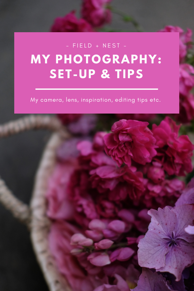 Field + Nest Photography Set-Up and Tips