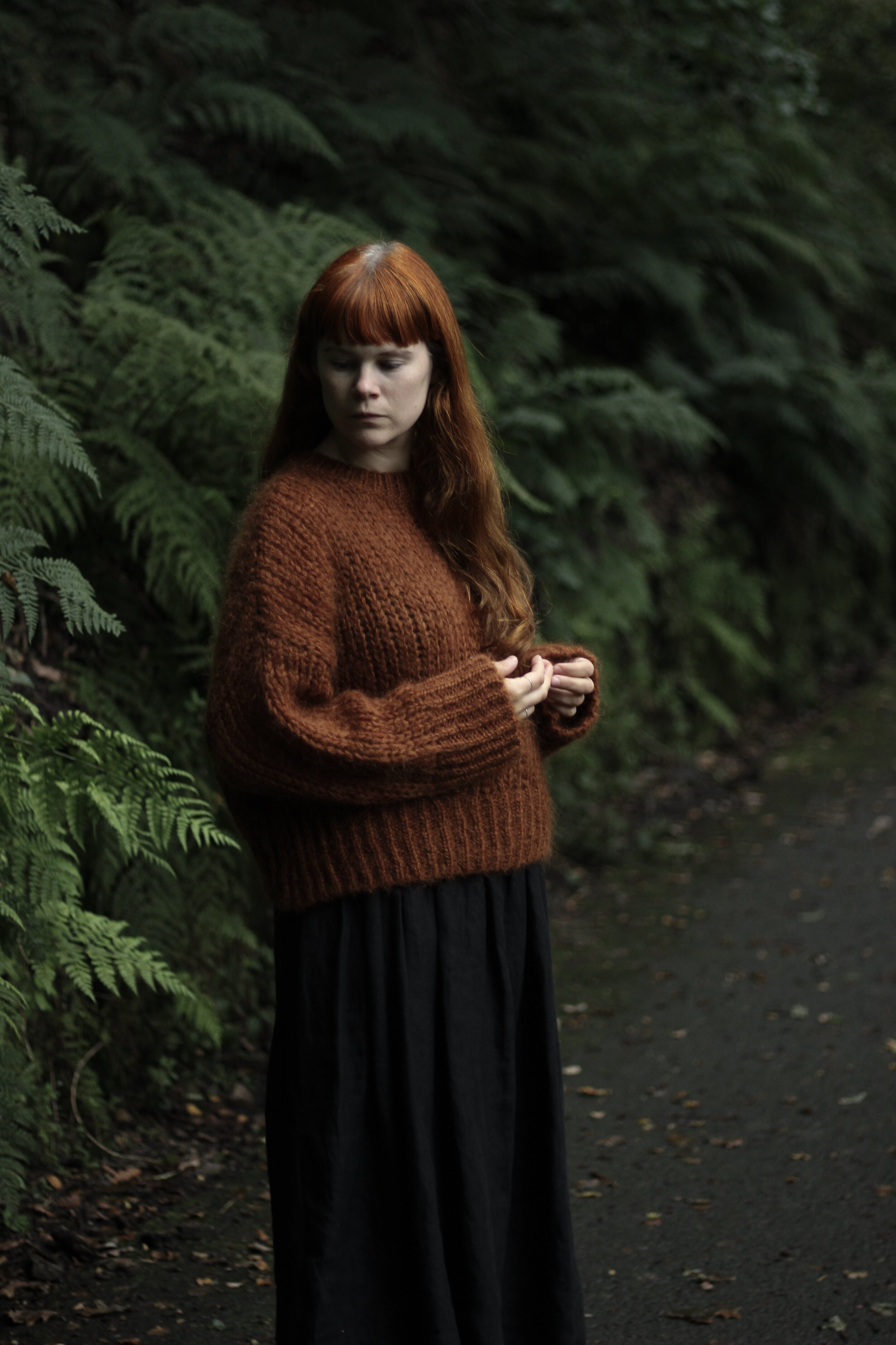 Autumn Style, Girl in Forest | Field + Nest